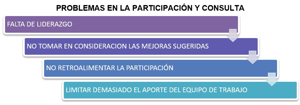 TABLA DE PROBLEMAS EN ÑLA PARTICIPACIÓN Y CONSULTA