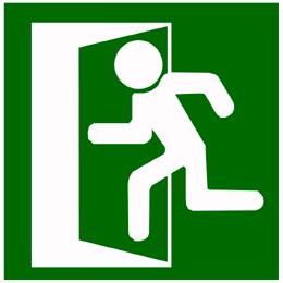 Formulación del plan de emergencias-Imagen SALIDA DE EMERGENCIA