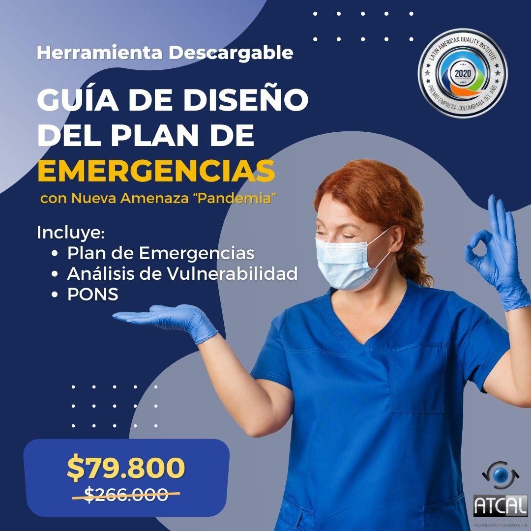 Plan de emergencias guía descargable