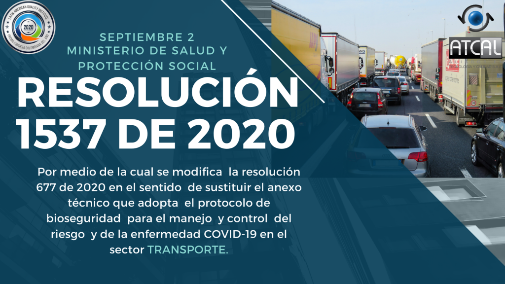 Resolución 1537 de 2020