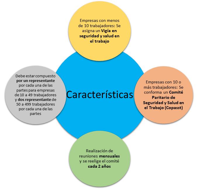 Características Copasst