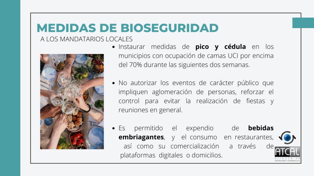 Medidas de Bioseguridad en Semana Santa 2021 para mandatarios locales.  Pico y cédula, eventos públicos, expendio de bebidas embriagantes