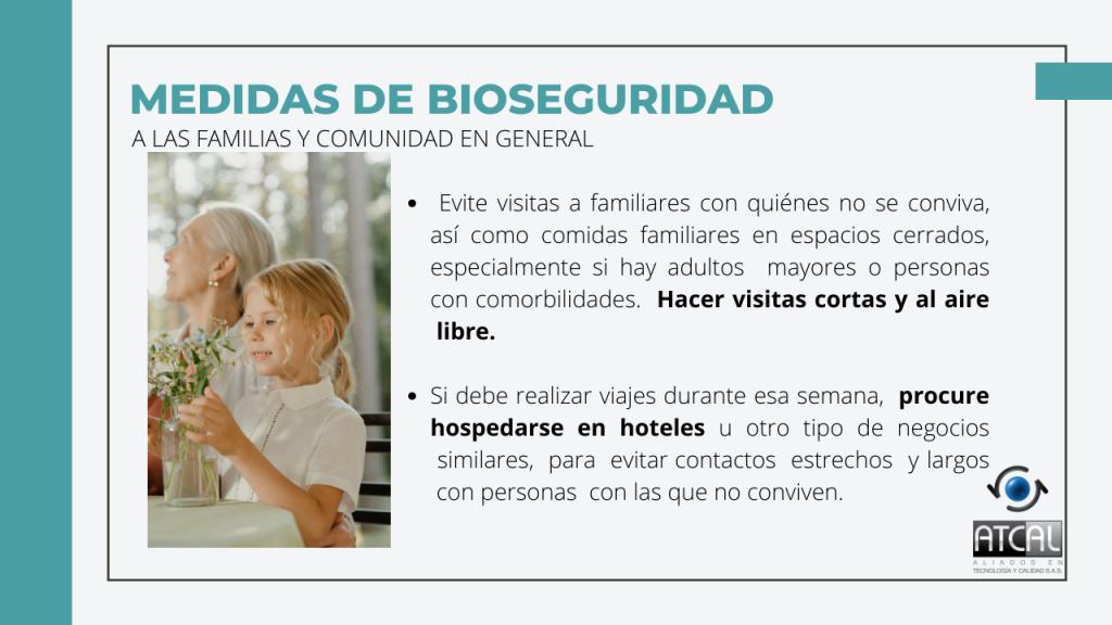 Medidas de Bioseguridad en Semana Santa 2021 para comunidad en general Visitas, viajes
