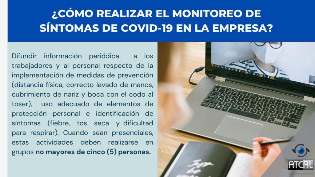 Resolución 392 de 2021. Modificación del artículo 5 de la resolución 666 de 2020: monitoreo de los síntomas de Covid- 19 en la empresa
