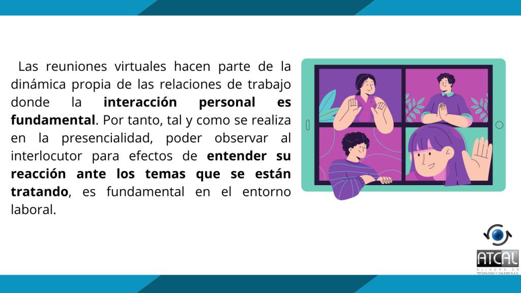 Reuniones virtuales en el teletrabajo