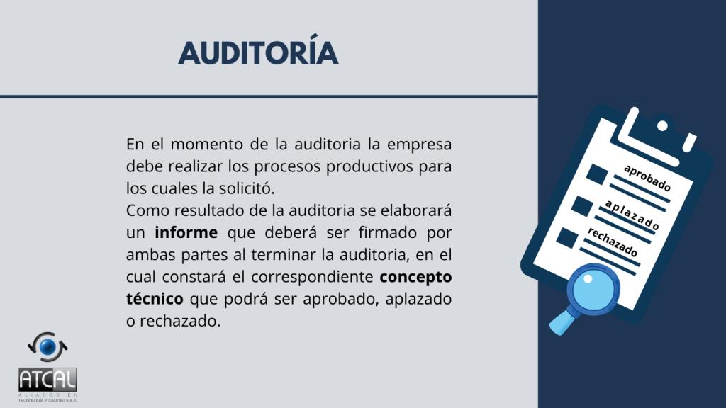 Auditoria  RESOLUCIÓN 092288 DE 2021: BPM en la elaboración de productos de uso veterinario