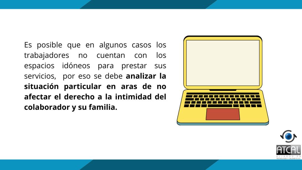 Reuniones virtuales no deben afectar el derecho de la intimidad de los colaboradores o su familia