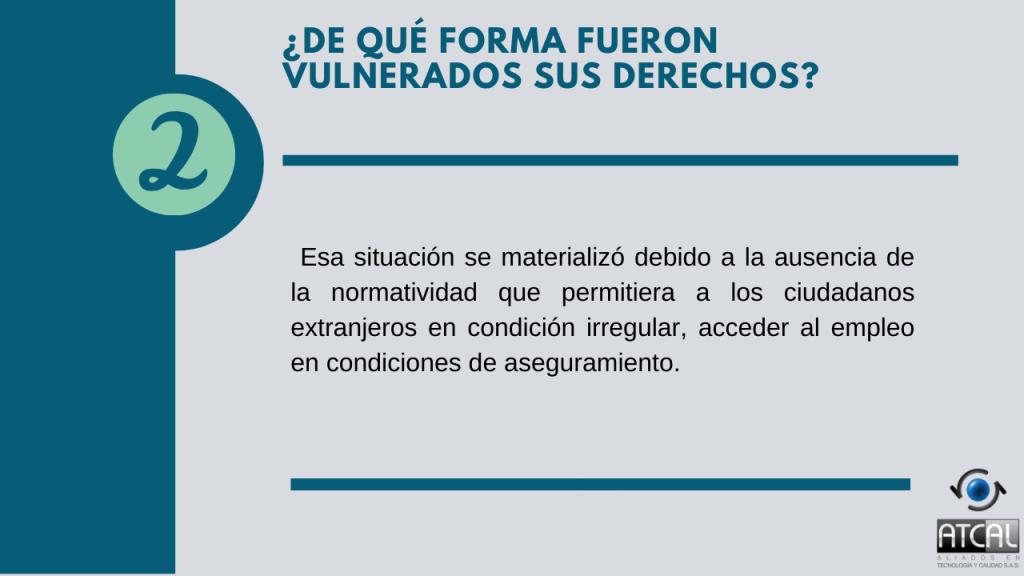 Vulneración derechos estabilidad laboral reforzada ST 535/2020
