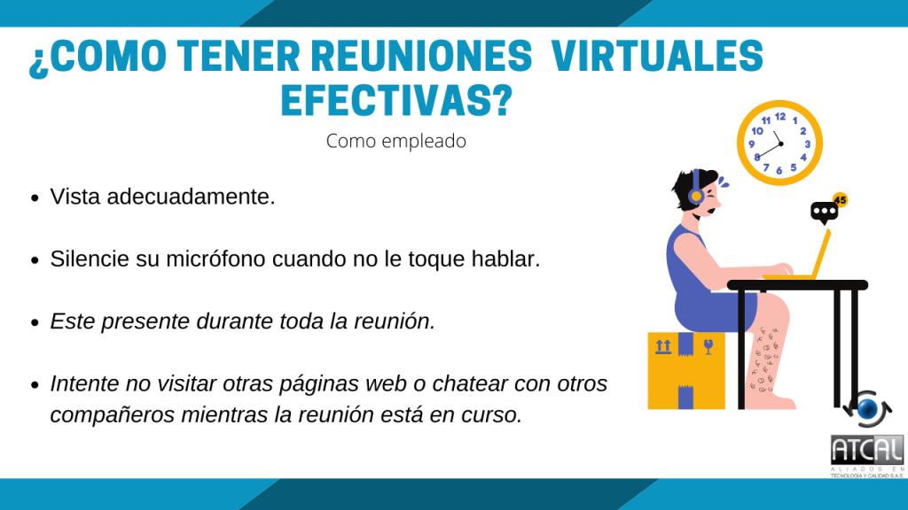 ¿Cómo tener reuniones virtuales efectivas?