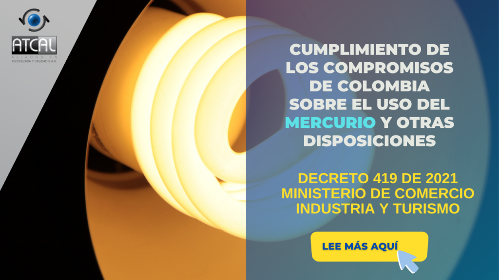 Prohibición del Uso del mercurio en Colombia
