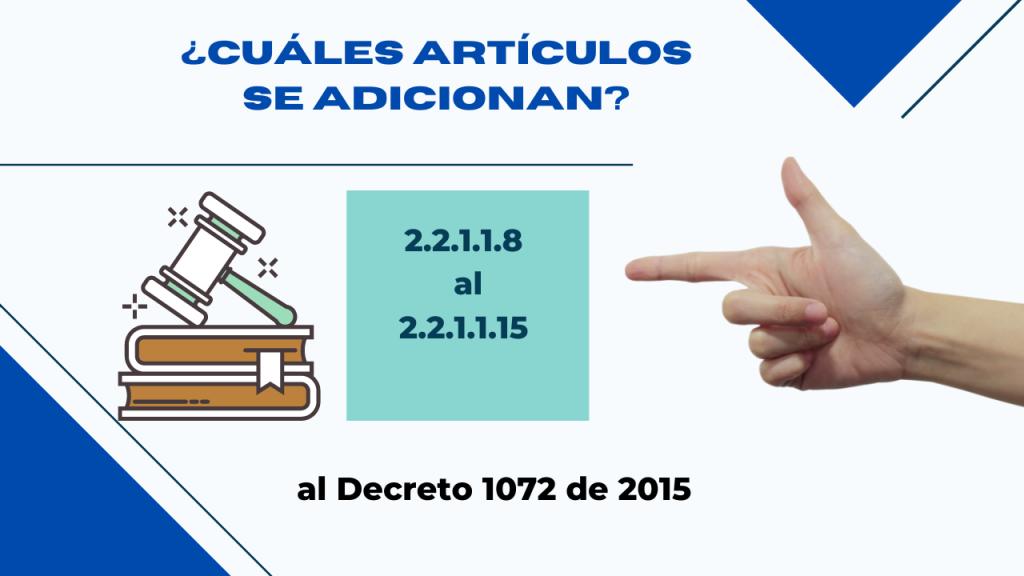 el Ministerio del Trabajo emitió el Decreto 526 de 2021, con el que se adicionan unos artículos al capitulo 1 del Titulo 1 de la Parte 2 del Decreto 1072 de 2015, Decreto Único Reglamentario del Sector Trabajo, para regular la firma electrónica del contrato individual de trabajo.