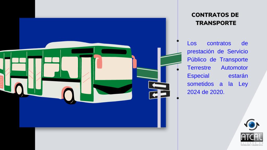 DECRETO 478 DE 2021: Contratos de transporte