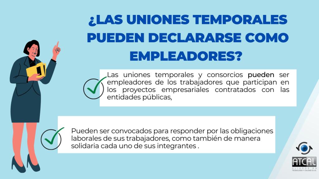 Las uniones temporales o consorcios permite a las organizaciones sindicales entablar procedimientos de negociación colectiva con los interlocutores que de verdad direccionan y controlan los procesos productivos.
