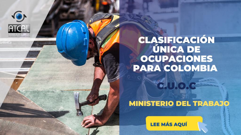 DECRETO 654 DE 2021 CLASIFICACIÓN ÚNICA DE OCUPACIONES PARA COLOMBIA -CUOC