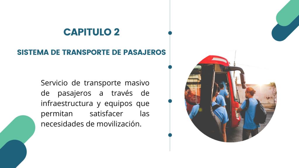 Estructura del Decreto Único del sector transporte- Libro 2 Capitulo 2