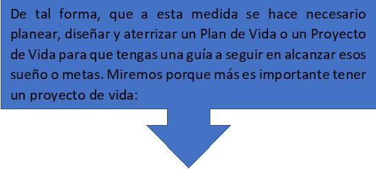 Planear Plan de Vida
