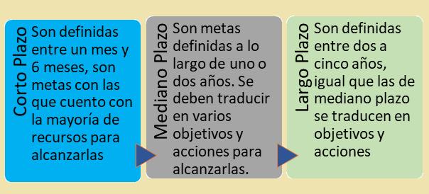 Clasificación de metas