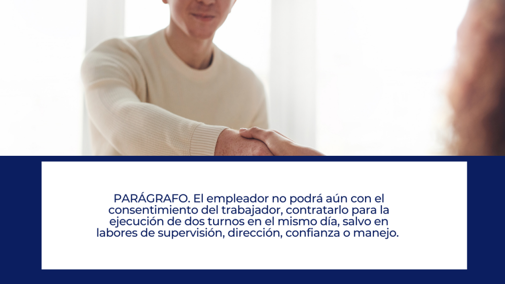 Excepciones en la reducción de la jornada laboral en Colombia LEY 2101 DE 2021