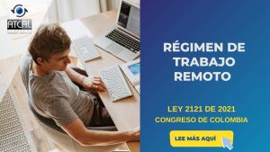 RÉGIMEN DE TRABAJO REMOTO