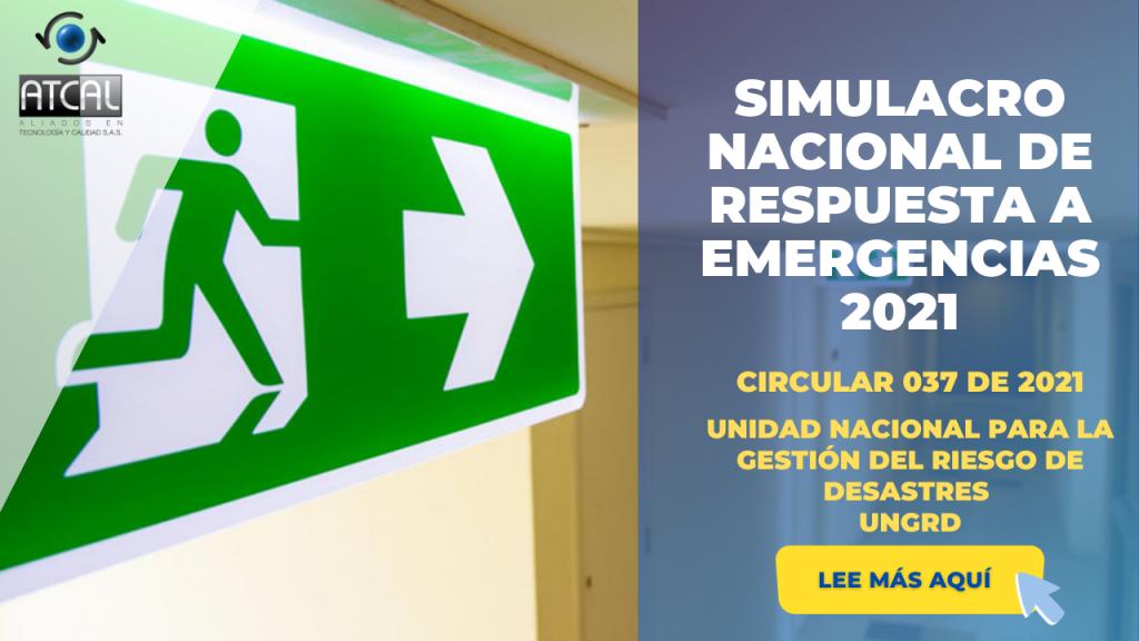 PREPÁRATE SIMULACRO NACIONAL DE RESPUESTA A EMERGENCIAS 2021