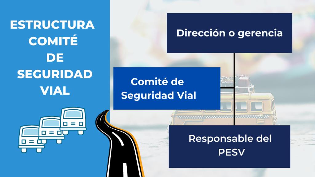Estructura del comité de seguridad vial